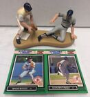 1989 STARTING LINE UP ONE ON ONE WADE BOGGS & DON MATTINGLY