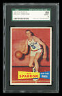 1957-58 TOPPS #38 GUY SPARROW SGC 88 NM-MT WELL CENTERED! NEW YORK KNICKS