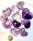 Wholesale Lot 1 Lb Amethyst Heart Crystal Polish Nice Quality Natural