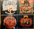 4CDs PANTERA - Metal Magic/ Projects In The Jungle/ I Am The Night / Power Metal