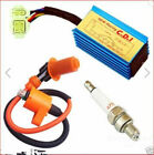 Pro Racing CDI Ignition Coil Spark Plug Durable For Gy6 50 125 150cc Scooter ATV