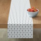 Table Runner Wisteria Beadwork American Indian Native American Cotton Sateen