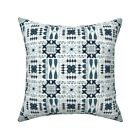 African Ethnic Native Throw Pillow Cover w Optional Insert by Roostery
