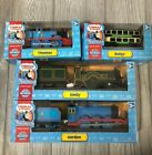 New THOMAS & FRIENDS Trackmaster 4 Train Engine Lot Gordon Bulgy Emily VTG Nib !