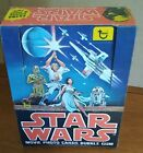 Star Wars series 1 English French Topps trading card empty box no wax packs used