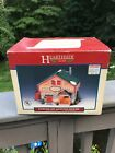 Vintage 1993 Grain~Seed~Feed~Lemax Hearthside Village Porcelain Lighted House