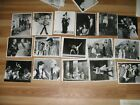 Vintage photographs Lot of pictures from 60s movies theater show head shots