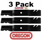 3 Pack Oregon 96 363 Gator Mulcher Blade for Kubota K5645 34330 K5645 34340 60