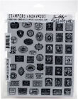Stampers Anonymous Tim Holtz Cling Stamps 7X85 Stamp Collector