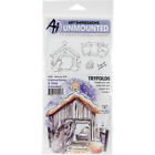 Art Impressions Mini TryFolds Stamp  Die Set Nativity