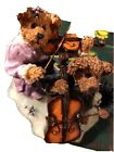 """boyds bears figurines """"Amanda And Michael...String Section"""""""