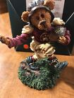 """boyds bears figurines """"T.D. Gridiron...Touch Down"""""""