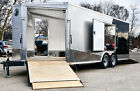 New  Used Enclosed Car Snowmobile Motorcycle ATV Trailer