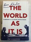 SIGNED The World As It Is A Memoir of the Obama White House by Ben Rhodes