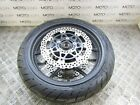 KAWASAKI ER-6 ER6 F 2008 front wheel rim with rotors and good tyre