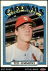 Top 10 Ted Simmons Baseball Cards 20