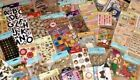 Bulk lot of 10 Jolees Sticko KCo stickers and embellishments