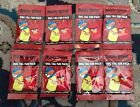 ANGRY BIRDS SERIES 1 DOG TAG FUN PACK LOT (8) SEALED SHIPS FAST FREE SHIPPING