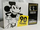 Mickey Mouse The True Original Collectors Chess Set 90 Years NIB Sealed