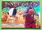 LEBRON JAMES 2010-11 Panini Gold Standard GOLD NUGGETS #ed 6 25 Prime Patch🏅🔥☀