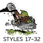 Baby Yoda Stickers The Mandalorian Stickers CHOOSE 1 GET 1 FREE Styles 17 32