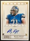2012 National #281 Riley Reiff Autograph Gold Century RC 10 49 Iowa Vikings