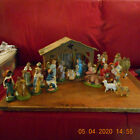 VINTAGE CHALKWARE NATIVITY SET