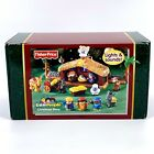 Fisher Price Little People Christmas Story Lights Sounds Nativity Set J2404