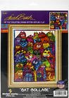 Design Works Counted Cross Stitch Kit 12X16 Cat Collage 14 Count