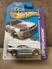Hot Wheels Nissan Skyline GT R R34 ZAMAC 2013 HW Showroom Release with Protecto