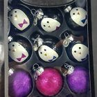 Celebrations by Radko Penguin & Glitter Glass Ornament 12pc Set Pink Purple