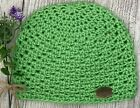 Beanie Handmade in Laguna Beach, CA! 6 - 12 Months, Lime Green
