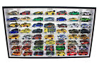 56 Hot Wheels 164 Scale Diecast Display Case Stand Mirrored Back with Door