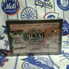 2019 Leaf Metal Draft Hobby Baseball Box 6 Autograph Cards