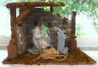 Lladro Holy Family Jesus Mary  Joseph 4533 4534 4535 Nativity Set with Stable