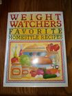 Weight Watchers Favorite Homestyle Recipes 250 Prize Winning Recipes Hardcover H