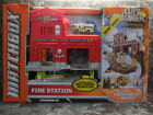 matchbox fire station w 1 vehicle new never opened playset
