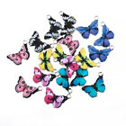10PCS Butterfly Pendants Colourful Enamel Charm Animal Fit DIY Jewellery Making