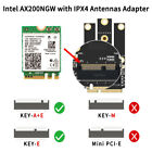 Wi Fi 6 for Intel AX200 Card with Adapter PCI E Laptops better than 7260HMW Card