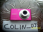Pink Sony Cyber Shot W320 14.1MP Fully Working, Batt Charger, 8gb Memory Card