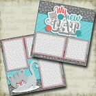 MY NEW CAT 2 Premade Scrapbook Pages EZ Layout 4032