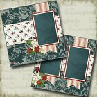 AMERICANA 2 Premade Scrapbook Pages EZ Layout 3820