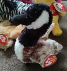 MIXED LOT OF 10 BEANIE BABIES, NEVER PLAYED WITH. Honkers Blessed Eggerton +