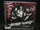 WHITE WOLF Live In Germany JAPAN CD Snake Eyes Seven Canada Hard Rock/Metal !