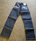NOS Deadstock Vintage EVISU BUCKLE BACK RED LIN HIDDEN RIVETS Jeans 29X34