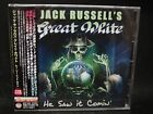 JACK RUSSELL'S GREAT WHITE He Saw It Comin' + 1 JAPAN CD Great White