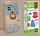 2 Cricut Cartridges Tags Bags Boxes and More ORIGINAL  Tags Bags Boxes  More 2