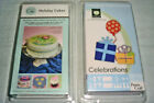 2 Cricut Cartridges Holiday Cakes AND Celebrations Brand New and Sealed