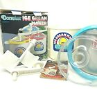 DONVIER Vintage Ice Cream Maker Chillfast 2 Pints Complete With Box Blue Rim