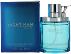 Blue By Yacht Man For Men EDT Cologne Spray 3.4oz Shopworn New